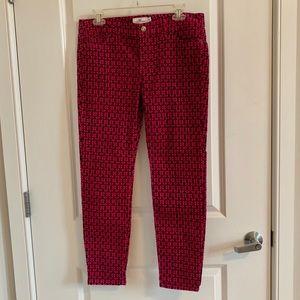 Vineyard Vine anchor patterned pants